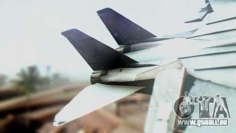 F-14D VF-2 Bounty Hunters pour GTA San Andreas sur la vue arrière gauche