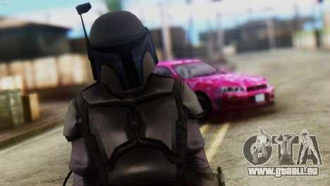Star Wars Repulic Commando 2 Jango Fett pour GTA San Andreas troisième écran