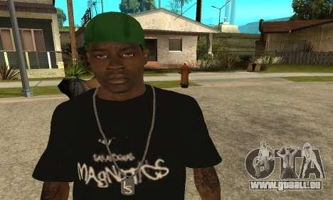 Groove St. Nigga Skin The Third für GTA San Andreas