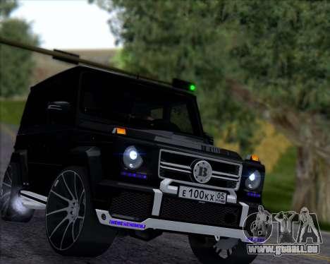 Brabus B65 Angry für GTA San Andreas linke Ansicht