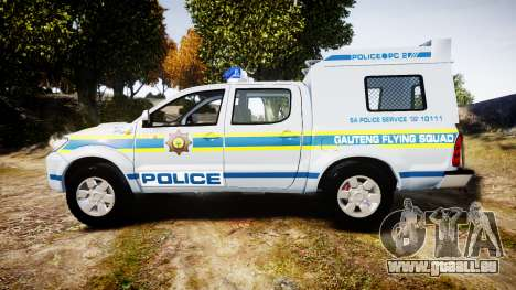 Toyota Hilux 2010 South African Police [ELS] für GTA 4 linke Ansicht