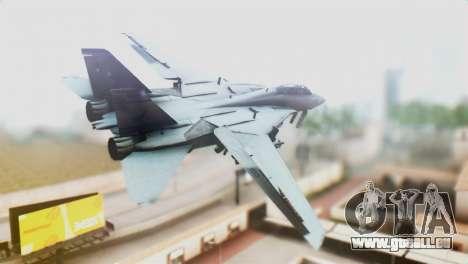 F-14D VF-2 Bounty Hunters für GTA San Andreas linke Ansicht