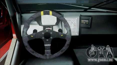 Volvo S60 Racing pour GTA San Andreas vue de droite