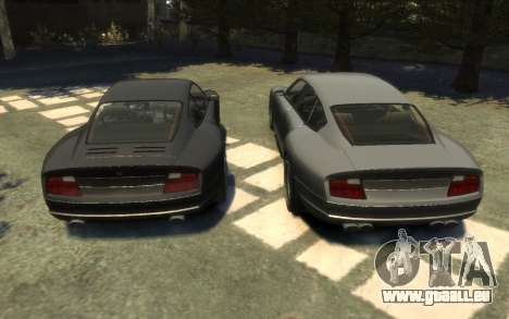 Pfister Alterego pour GTA 4 Vue arrière