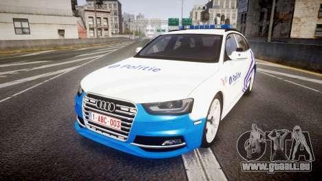 Audi S4 Avant Belgian Police [ELS] für GTA 4