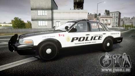 Ford Crown Victoria Alderney Police pour GTA 4 est une gauche