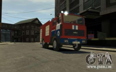 MAZ 533702 le Ministère des situations d'urgence pour GTA 4 est une gauche
