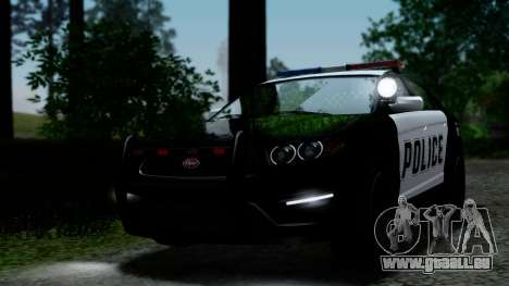 GTA 5 Vapid Police Interceptor v2 IVF pour GTA San Andreas vue de côté