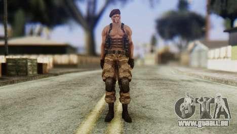 Jack Krauser Skin from Resident Evil für GTA San Andreas zweiten Screenshot
