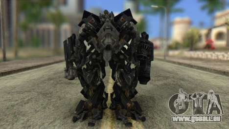 Ironhide Skin from Transformers v2 pour GTA San Andreas deuxième écran