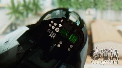 F-14D VF-2 Bounty Hunters für GTA San Andreas Rückansicht