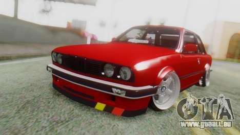 BMW M3 E30 B. O. Bau für GTA San Andreas