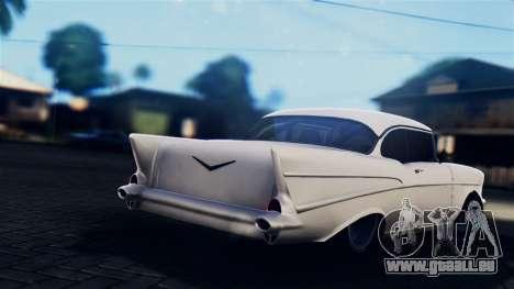 Chevrolet Bel Air 1957 FF Style für GTA San Andreas linke Ansicht