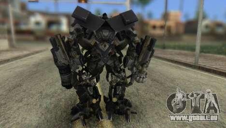 Ironhide Skin from Transformers v2 pour GTA San Andreas troisième écran