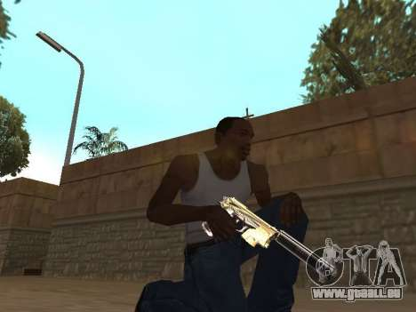 Chameleon Weapon Pack pour GTA San Andreas