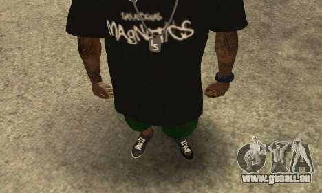 Groove St. Nigga Skin The Third pour GTA San Andreas deuxième écran