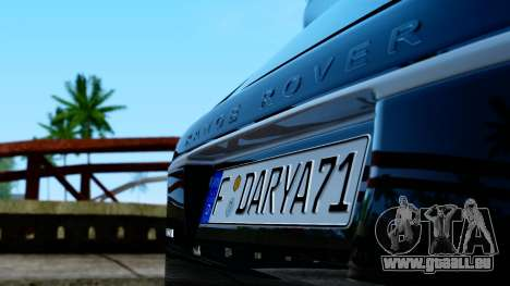 Range Rover Vogue Lumma Stratech für GTA San Andreas rechten Ansicht