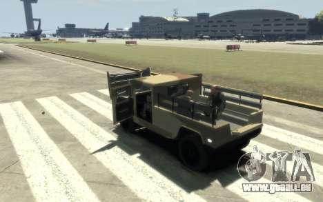GTA 5 Millitary Patriot für GTA 4 Innenansicht