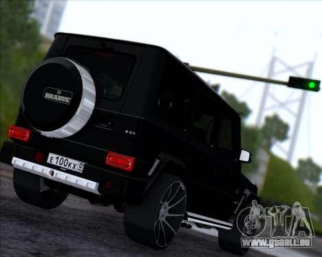 Brabus B65 Angry für GTA San Andreas rechten Ansicht