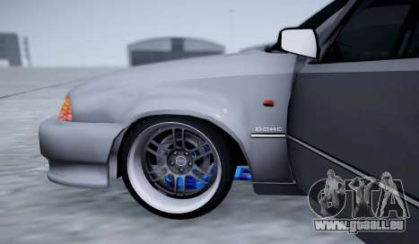 Daewoo Nexia 2006 pour GTA San Andreas vue de dessus