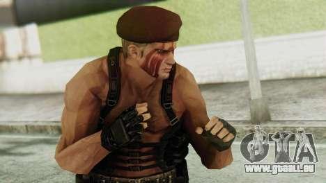 Jack Krauser Skin from Resident Evil für GTA San Andreas