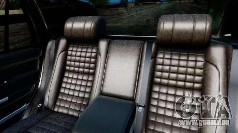Range Rover Vogue Lumma Stratech pour GTA San Andreas vue intérieure