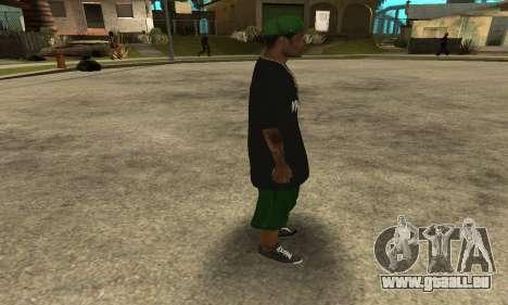 Groove St. Nigga Skin The Third für GTA San Andreas her Screenshot