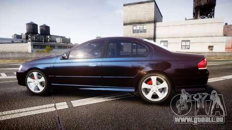 Ford Falcon XR8 2004 Unmarked Police [ELS] pour GTA 4 est une gauche