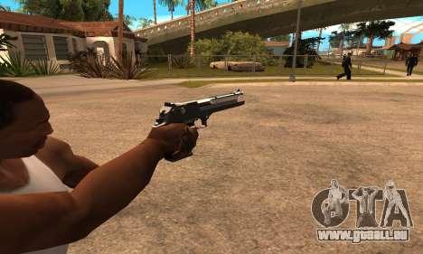 Deagle White and Black für GTA San Andreas