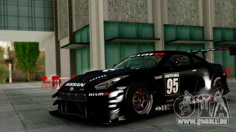 Nissan GT-R (R35) GT3 2012 PJ1 für GTA San Andreas Innenansicht