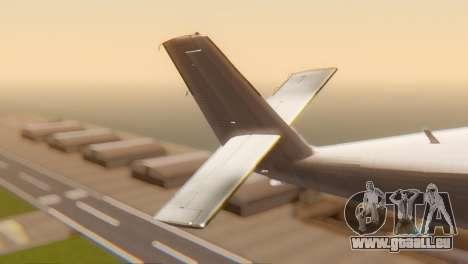 DHC-6-300 Twin Otter pour GTA San Andreas sur la vue arrière gauche
