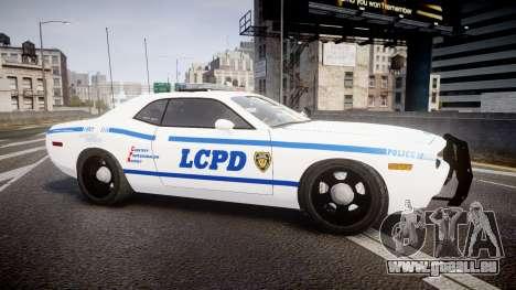 Dodge Challenger LCPD [ELS] pour GTA 4 est une gauche