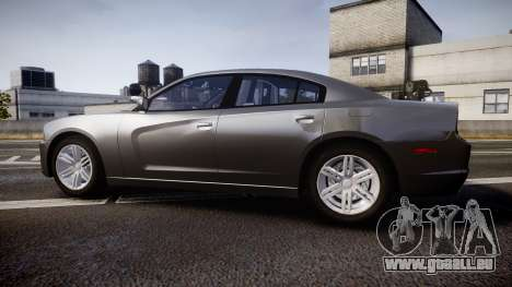 Dodge Charger Traffic Patrol Unit [ELS] rbl für GTA 4 linke Ansicht