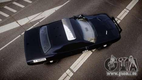 Dodge Challenger Marshal Police [ELS] für GTA 4 rechte Ansicht