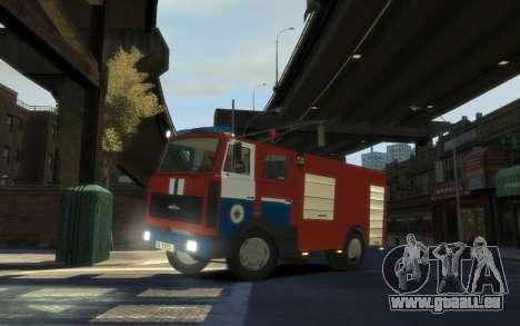 MAZ 533702 le Ministère des situations d'urgence pour GTA 4
