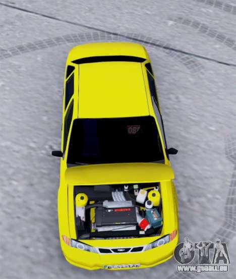 Daewoo Nexia 2006 pour GTA San Andreas vue arrière