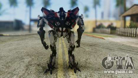 Starscream Skin from Transformers v1 für GTA San Andreas zweiten Screenshot