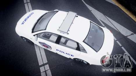 Audi S4 Serbian Police [ELS] für GTA 4 rechte Ansicht