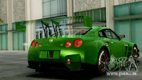 Nissan GT-R (R35) GT3 2012 PJ1 für GTA San Andreas linke Ansicht