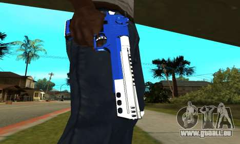 Blue Cool Deagle pour GTA San Andreas