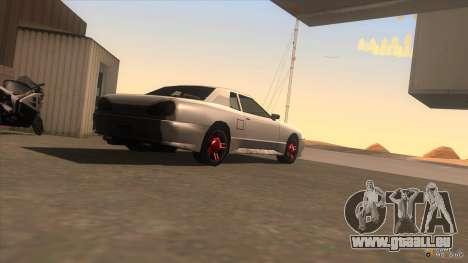 Super Elegy für GTA San Andreas linke Ansicht