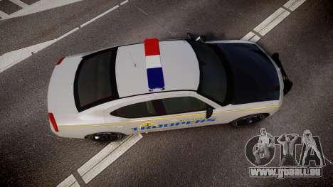 Dodge Charger Alaska State Trooper [ELS] für GTA 4 rechte Ansicht