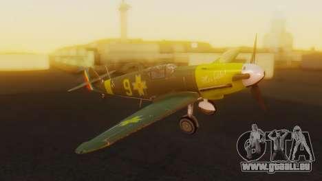 Messerschmitt Bf-109 E3 für GTA San Andreas