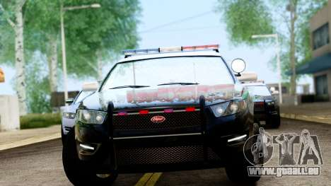 GTA 5 Vapid Police Interceptor v2 IVF für GTA San Andreas