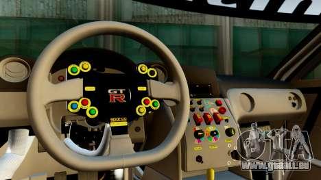 Nissan GT-R (R35) GT3 2012 PJ1 pour GTA San Andreas vue de droite