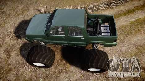 Albany Cavalcade FXT Monster Truck für GTA 4 rechte Ansicht