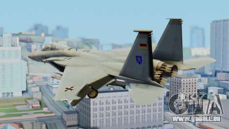 F-15C Eagle Luftwaffe JG 73 für GTA San Andreas linke Ansicht