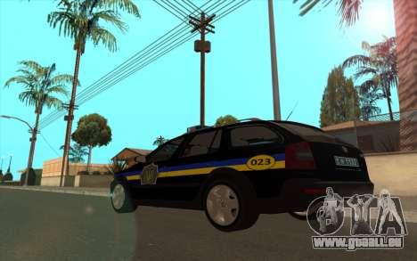 Skoda Octavia Scout DPS Ukraine v2 für GTA San Andreas linke Ansicht