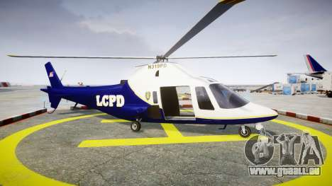 Buckingham Swift LCPD für GTA 4 linke Ansicht