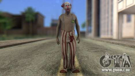 Zombie Clown from Left 4 Dead 2 für GTA San Andreas